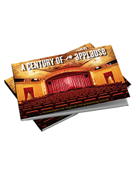 poster for Century of Applause Book